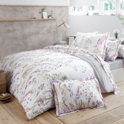 parure de lit percale herbier tradilinge. Black Bedroom Furniture Sets. Home Design Ideas