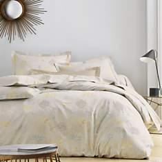 Parure de lit satin Hortense BLANC DES