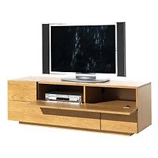 Meuble TV 3 tiroirs, 1 abattant ...