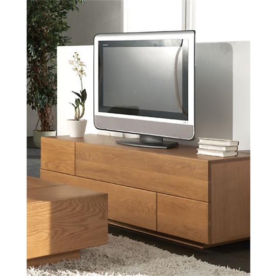 Meuble TV 3 tiroirs, 1 abattant Ilyane -> Abattant Meuble Tv