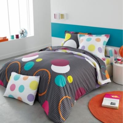 housse de couette microfibre jo origin. Black Bedroom Furniture Sets. Home Design Ideas