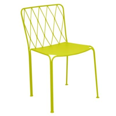 Lot de 2 chaises acier FERMOB Kintbury
