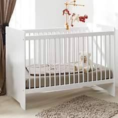 Lit bébé Savana blanc