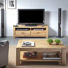 Ensemble table basse et meuble TV  Lumin