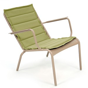 Lot 4 coussins fauteuil bas FERMOB  Luxe