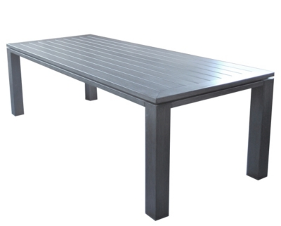 Table OCEO Latino, aluminium 240 x 98 cm