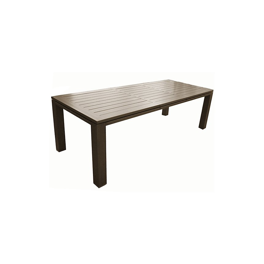 Table OCEO Latino, aluminium 180/240  x 98 cm