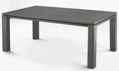 Table OCEO Latino, aluminium 180 x 98 cm