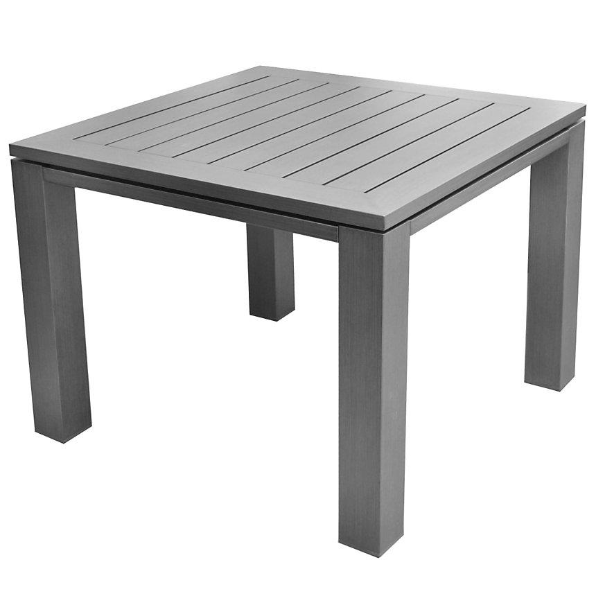 Table aluminium OCEO Latino 78 x 78 cm