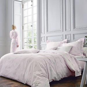 Parure de lit percale Lily BLANC DES  VO