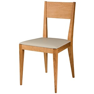 Lot de 2 chaises Liz, chêne