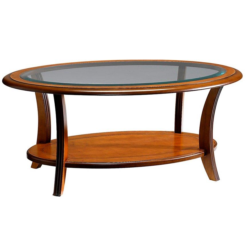 Table basse ovale Maélia