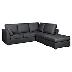 Canapé d'angle tissu Marbella ba...