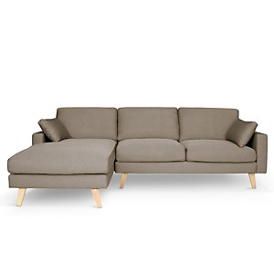 Canapé d'angle tissu Marius