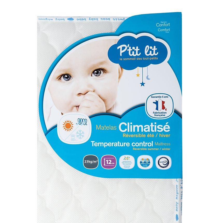 Matelas bébé Climatisé, 12 cm