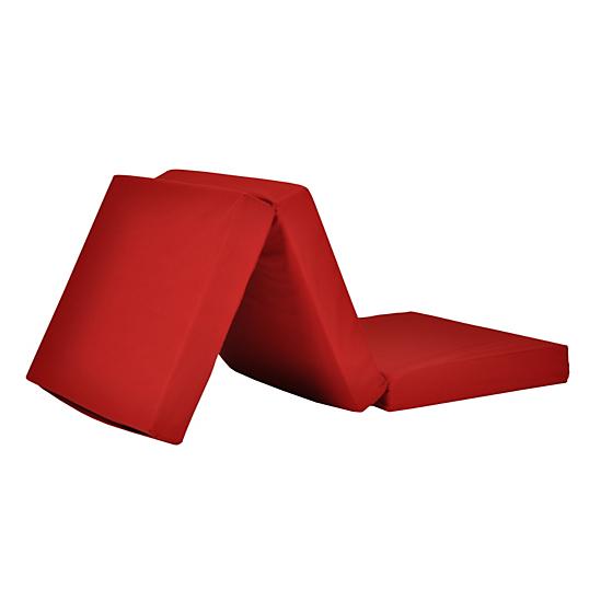 Matelas valise rouge - Conforama matelas pliable ...