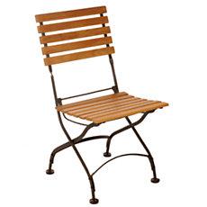 Lot de 2 chaises pliantes en fer...
