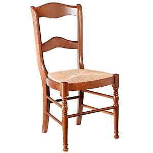 Lot 2 chaises Mélanie dos barett...