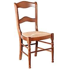 Lot 2 chaises Mélanie dos barettes,  mer