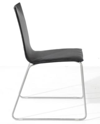Lot de 4 chaises Verone ,  Alu/Textilène noir