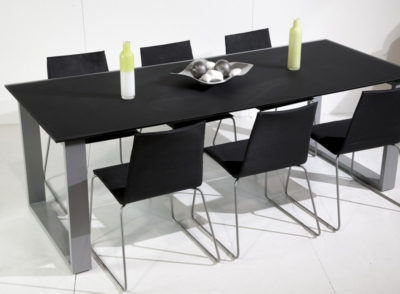 table rectangulaire verone 6 8 personnes. Black Bedroom Furniture Sets. Home Design Ideas