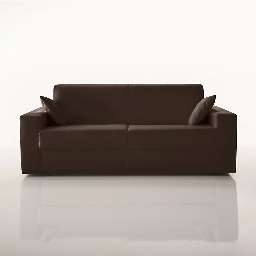 Canapé convertible cuir Milo