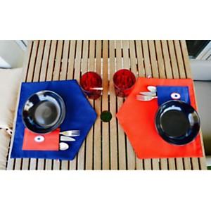 Set de table p'tit coq Rouge