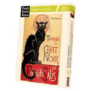 Puzzle Le Chat Noir, De Steinen