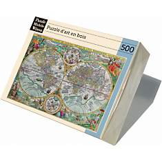 Puzzle Carte Du Monde De 1594