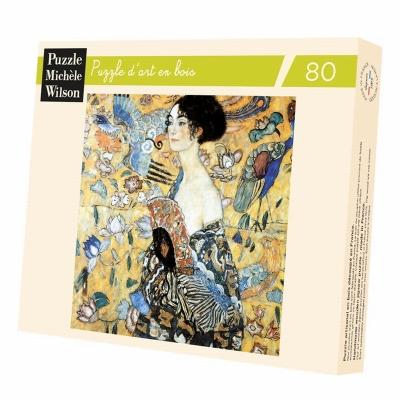 Puzzle La Dame A L'Eventail, De Klimt