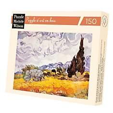 Puzzle Les Bles Jaunes, De Van Gogh
