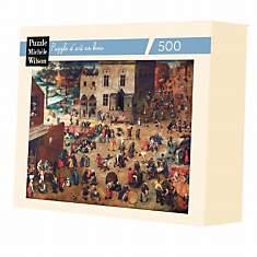 Puzzle Jeux D Enfants, De Bruegel