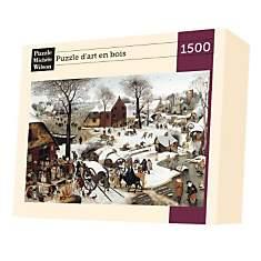 Puzzle Denombrement Bethleem, De Bruegel