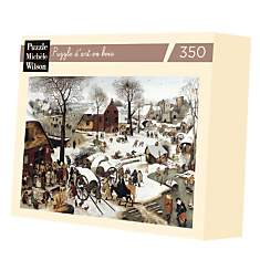 Puzzle Denombrement Bethleem, Bruegel