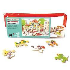 Puzzle Les Pompiers, De Cacouault