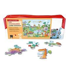 Puzzle Les Dinosaures, De Cacouault