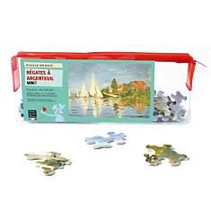Puzzle Regates A Argenteuil, De Monet