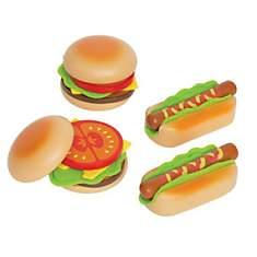 Accessoires dinette - hamburgers et hotd...