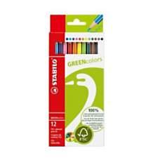 Crayons de couleur FSC