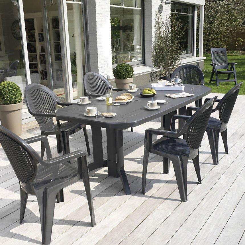 Table de jardin Vega 220 GROSFILLEX