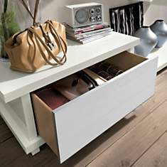 Coffre-banc design avec tiroir ALBA