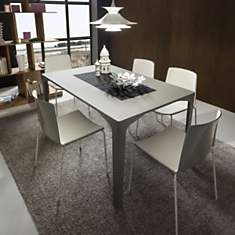 Table de repas extensible design ETTORE ...
