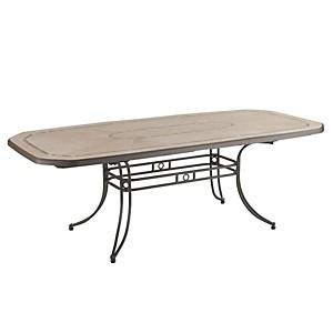 Table extérieure 220x100 Amalfi bronze d