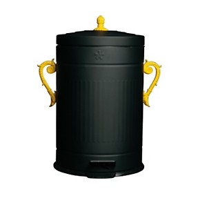Poubelle 18 litres design SELETTI Trash Chic