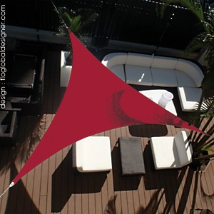 Voile d'ombrage Triangle