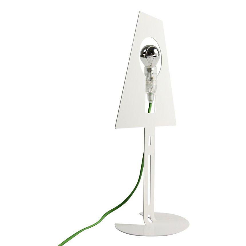 Lampe Design 2D 2Plis Blanche
