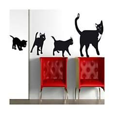 Sticker Famille de chats