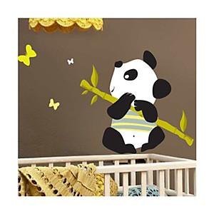 Sticker Panda jouant de la flûte