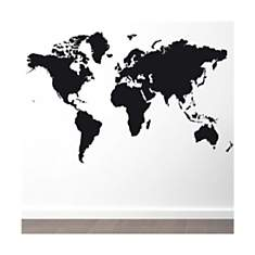 Sticker Planisphère