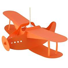 Lampe suspension enfant Avion